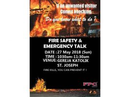 FIRE SAFETY & EMERGENCY TALK