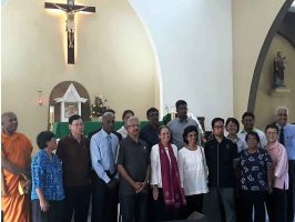 VISIT BY US AMBASSADOR TO ST. JOSEPH'S CHURCH