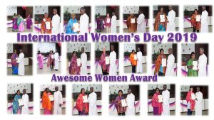INTERNATIONAL WOMEN'S DAY 2019 – 'PAMPERING THE QUEEN IN YOU'