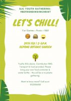YOUTH GATHERING: Let's Chill!